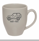 Enjoy The Ride 16 oz. Coffee Mug, Gray