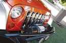 Grille Insert for Jeep Wrangler JK 2007-2017 Chrome by Rampage
