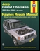Haynes Jeep Grand Cherokee 1993-2004 Softcover Book