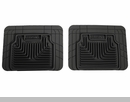Heavy Duty Floor Mats for Jeep Wrangler JK 2007-2009 in Black - Rear