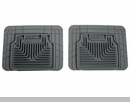 Heavy Duty Floor Mats for Jeep Wrangler JK 2007-2009 in Grey - Rear