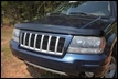 Hood Bug Deflector, Jeep Grand Cherokee WJ (1999-2004), Smoke