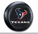 Houston Texans NFL Tire Cover - Black Vinyl