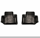 Husky Rear Floor Liners in Black for 2 door Jeep Wrangler JK 2014-2017