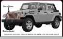 Husky Shield Paint Protection Film for Jeep Wrangler JK Sahara