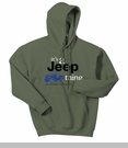 It�s a Jeep Thing Hooded Sweatshirt in Military Green