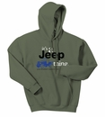 It's a Jeep Thing Hooded Sweatshirt in Military Green