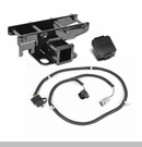 Receiver Hitch w/ Wire & Jeep Plug Wrangler 2007-2017 - 2 Inch