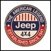 "Jeep 4x4 American Legend Since 1941 Metal Sign, 14"" Round"