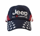 Jeep� All-American Flag Hat - Navy Blue