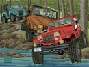 Jeep Cards: Jeep Creek Parade Notecards