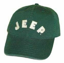 Closeout Jeep Collegiate Baseball Hat (Green)