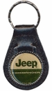 Jeep Commander Leather Keychain
