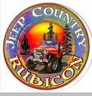 """Jeep Country Rubicon Round 14"""" Sign"""