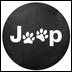 Jeep Dog Paw Logo Tire Cover
