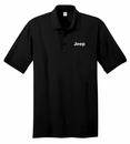 Jeep Embroidered Polo Shirt, Black