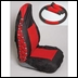 Jeep Front Seat Covers for YJ & TJ 1987-2002, Comfort Combo Pack