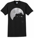 Jeep Full Moon Men's T-Shirt in Black