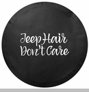Jeep Hair Don't Care Tire Cover