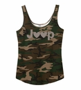 Closeout - Jeep Hearts Junior Fit Camo Swing Tank