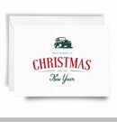 Jeep Holiday Card Best Wishes Print, Boxed Set of 10