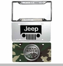 Jeep License Plates & Frames