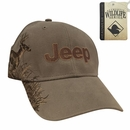 Jeep Logo Embroidered Hat with Buck Design