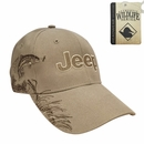 Jeep Logo Embroidered Hat with Trout Design