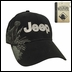 Jeep Logo Embroidered Hat with Labrador Design