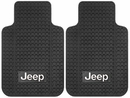 Jeep Logo Floor Mat with Anti-Skid Backing for Wrangler YJ, TJ  & JK 1987-2017