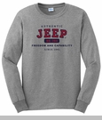 Jeep Long Sleeve - Authentic T-Shirt (Grey)