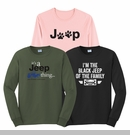 Jeep Long Sleeve T-Shirts