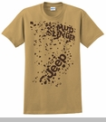 Closeout - Jeep Mudslingers, Only in a Jeep, Mud Splattered Tee