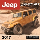 Jeep Off-Road 2017, 16 Month Wall Calendar