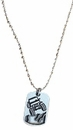 Jeep Pewter Pendant Necklace with 18 Inch Ball Chain