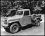 "Jeep Poster 1950 Willys Overland One-Ton Jeep Pickup, 18"" x 24"""