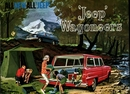 Jeep Poster/Print 1963 Willys Jeep Wagoneer Brochure Cover