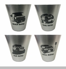 Jeep Rated Shot Glass Set of 4
