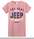 Jeep Real Deal Women's T-Shirt in Pink