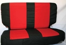 """Jeep REAR Seat Covers for TJ Wranglers-""""Comfort Combo Pack"""""""