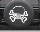 Jeep Skull & Crossbones Tire Cover