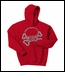 Jeep Skull & Crossbones Youth Hoodie