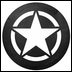 Jeep Star Tire Cover
