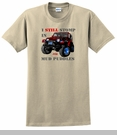 """Jeep� T-Shirt - """"I still stomp in mud puddles"""""""