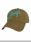 Jeep� Teal Script Ladies Cap