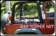 Jeep Topper Net for Jeep Wranglers 1992-2006