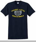 """Jeep """"Toughest 4 Letter Word"""" Unisex Tee - Navy"""