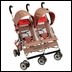 Jeep® Wrangler Twin Sport All-Weather Double / Twin Stroller
