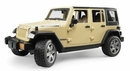 Jeep Wrangler Unlimited Rubicon Toy in Tan