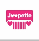 Jeepette Heart Grille Decal